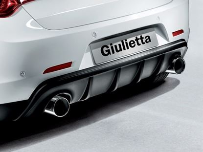 Picture of Guillitta Twin Exuast tailpipe