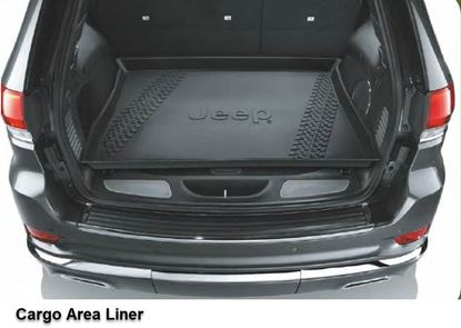 Picture of Grand cherokee -Cargo Area Liner