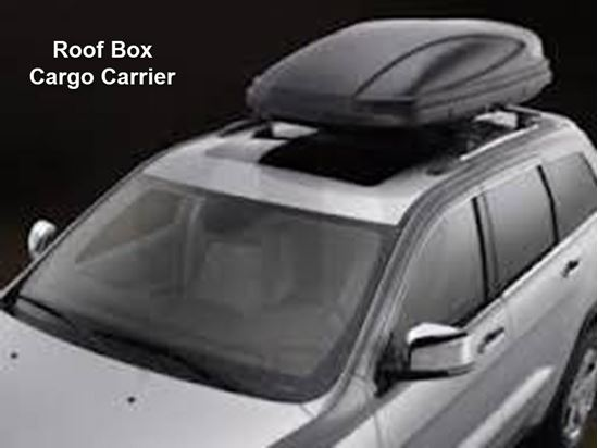 Picture of Grand cherokee -Roof Box Cargo Carrier