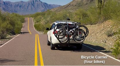 Picture of Grand cherokee -Bicycle Carrier (four bikes)