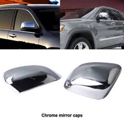 Picture of Grand cherokee -Chrome mirror caps