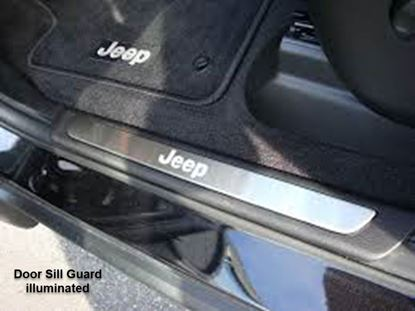 Picture of Grand cherokee -Door Sill Guard illuminated (set of two)