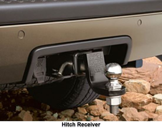 Picture of Grand cherokee -Hitch Receiver