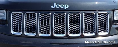 Picture of Grand cherokee -Mesh Grill Chrome