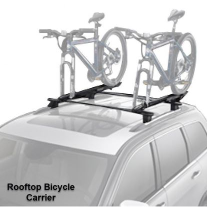 Picture of Grand cherokee -Rooftop Bicycle Carrier