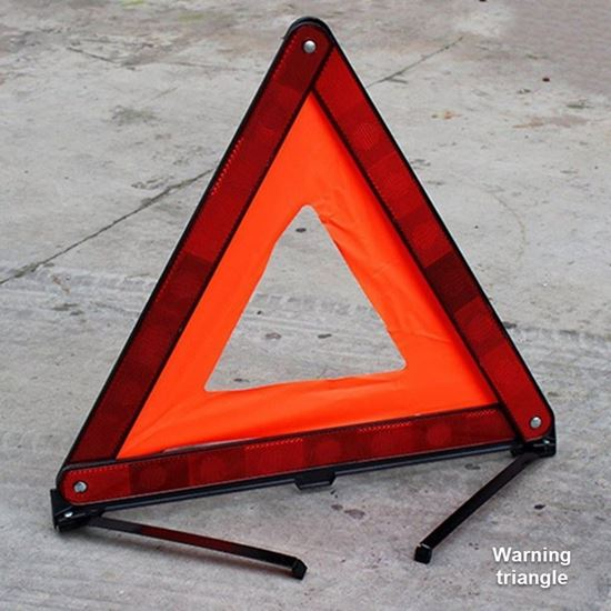 Picture of Grand cherokee -Warning triangle,