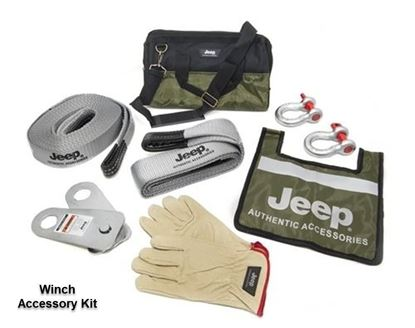 Picture of Grand cherokee -Winch Accessory Kit