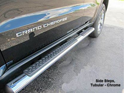 Picture of Grand cherokee -Side Steps, Tubular - Chrome
