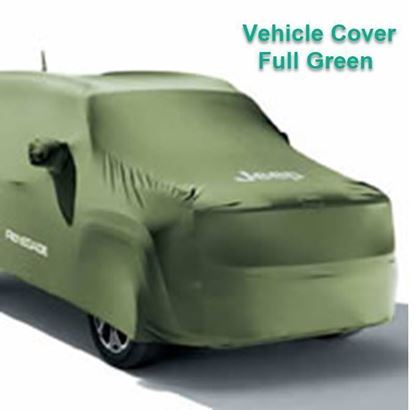 Picture of Reneged-Vehicle Cover, Full Green