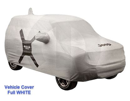 Picture of Reneged-Vehicle Cover, Full WHITE